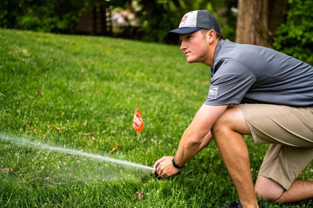 sprinkler company dr repair